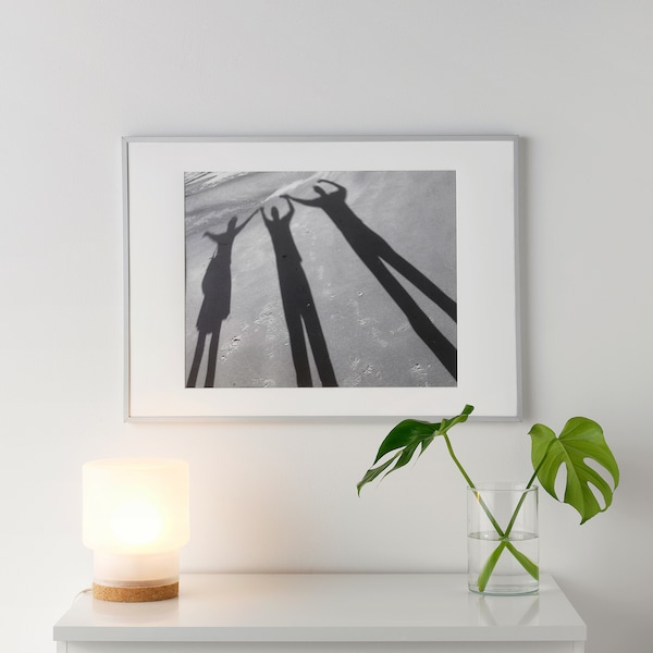 LOMVIKEN Markoa, aluminioa, 50x70 cm