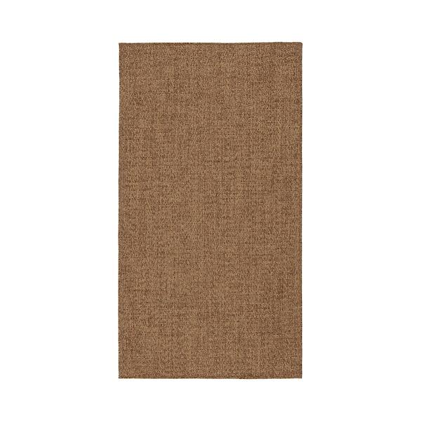 LYDERSHOLM Barr/kanp alfonbra, marroia, 80x150 cm