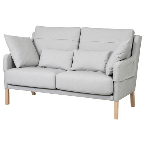OMTÄNKSAM 2 eserlekuko sofa Orrsta argiguneargigrisa 101 cm 92 cm 22 cm 5 cm