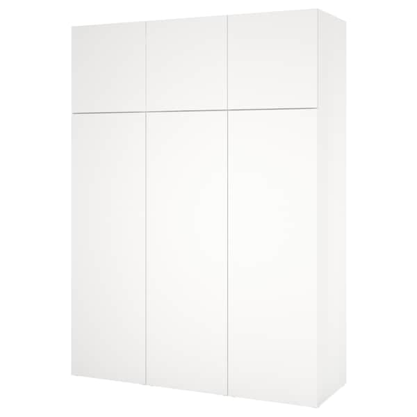 PLATSA Armairua, zuria/Fonnes zuria, 180x57x241 cm