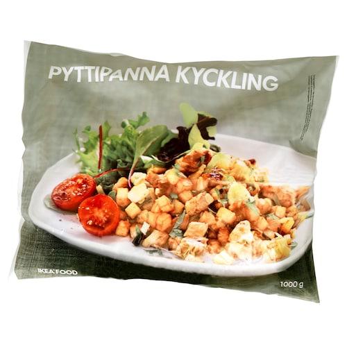 PYTTIPANNA KYCKLING patata-salteatua oilaskoarekin
