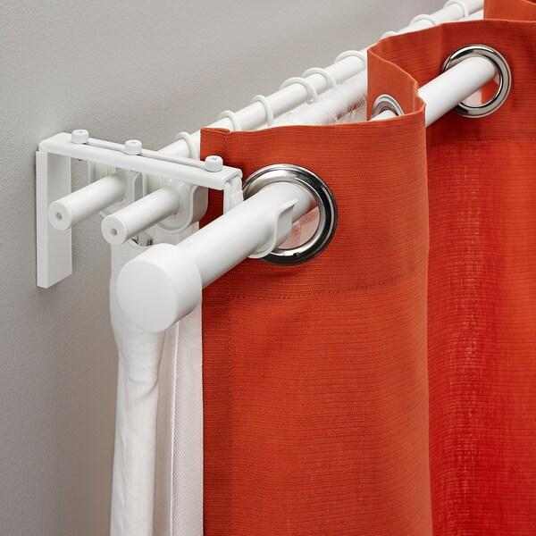 RÄCKA / HUGAD Gortin barr hiruk konbin, zuria, 120-210 cm