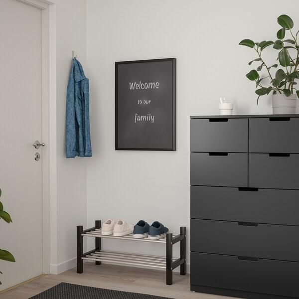 SÄVSTA Ohar-arbela, beltza, 50x70 cm