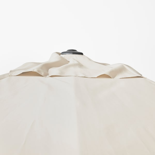 SEGLARÖ Itzalkin zintzilikaria, beixa/etzangarria, 330x240 cm