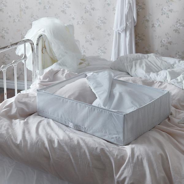STUK Biltegiratzeko poltsa, zuria/grisa, 55x51x18 cm