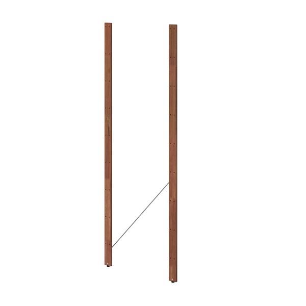 TORDH Zutoina, kanp, tindu marroia, 161 cm 2 pack