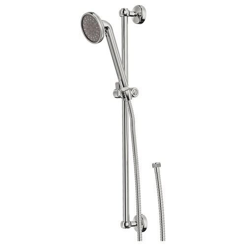 VOXNAN Barra erregulagarria + dutxa sorta kromatua 90 mm 1500 mm