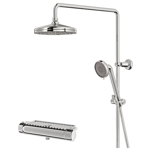 VOXNAN Bain/dutxa termost nahasgailua kromatua 150 mm 90 mm 200 mm 1500 mm