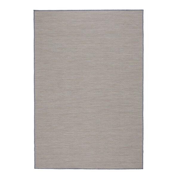 VRENSTED Barr/kanp alfonbra, beixa/argiguneargiurdina, 133x195 cm