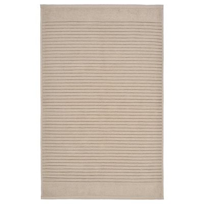 ALSTERN Alfombra de baño, beixe, 50x80 cm