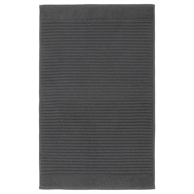 ALSTERN Alfombra de baño, gris escuro, 50x80 cm