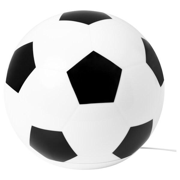 ÄNGARNA Lámpada mesa, motivo balón de fútbol