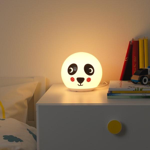 ÄNGARNA Lámpada mesa, motivo panda