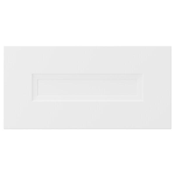 AXSTAD Fronte de caixón, branco mate, 40x20 cm