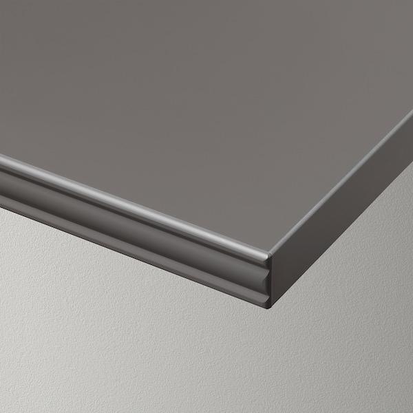 BERGSHULT Andel, gris escuro, 80x30 cm
