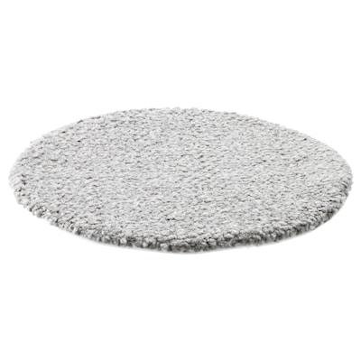 BERTIL Coxín para cadeira, gris, 33 cm