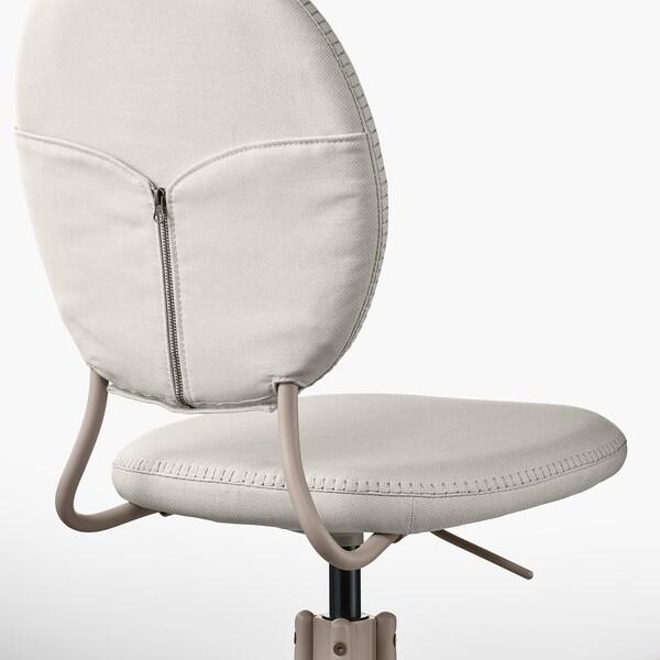 BJÖRKBERGET Cadeira xiratoria, Idekulla beixe