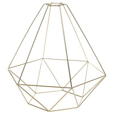 BRUNSTA Pantalla para lámpada de teito, cor bronce, 35 cm