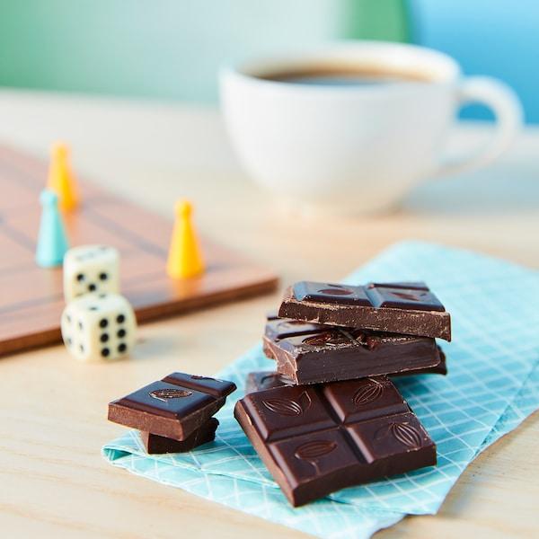 CHOKLAD MÖRK Chocolate escuro, certificado UTZ