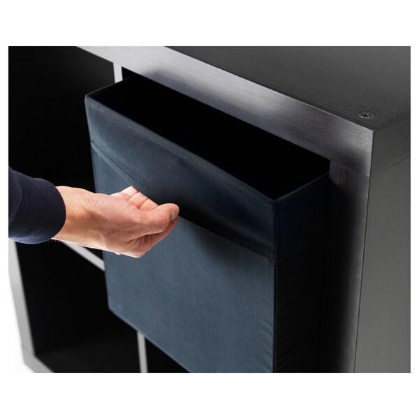 DRÖNA Caixa, negro, 33x38x33 cm