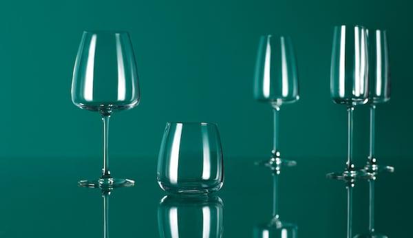 DYRGRIP Copa de cava, vidro incoloro, 25 cl