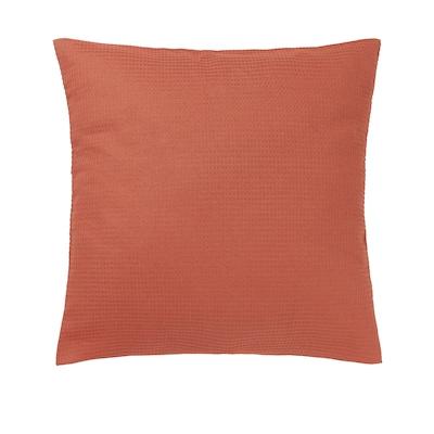 EBBATILDA Funda de coxín, vermello óxido, 50x50 cm