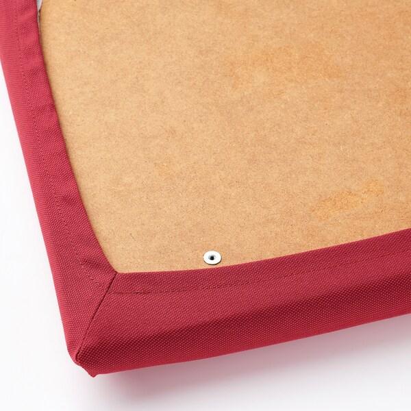 EKEDALEN Cadeira, carballo/Orrsta vermello