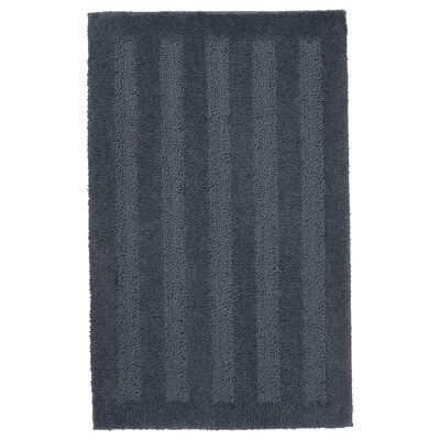 EMTEN Alfombra de baño, gris escuro, 50x80 cm