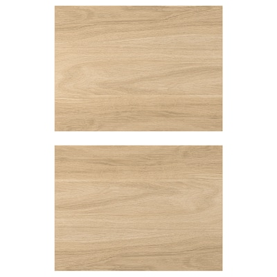 ENHET Fronte de caixón, efecto carballo, 40x30 cm