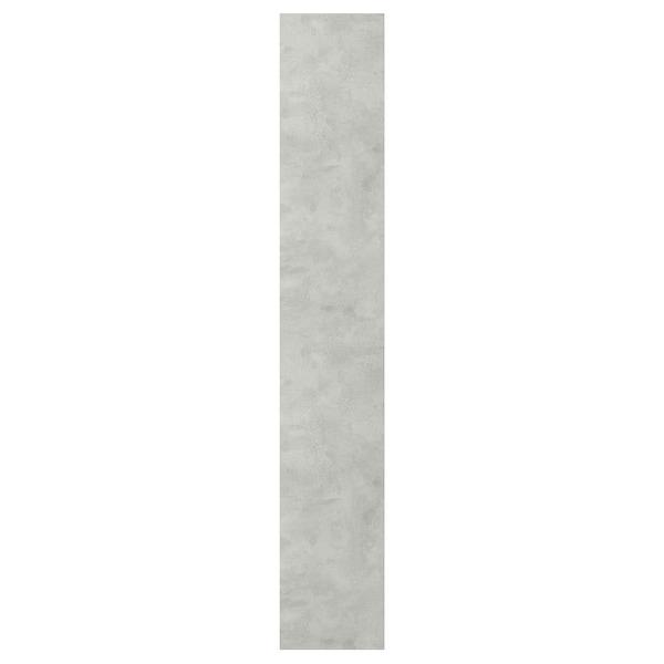ENHET Porta, efecto cemento, 30x180 cm