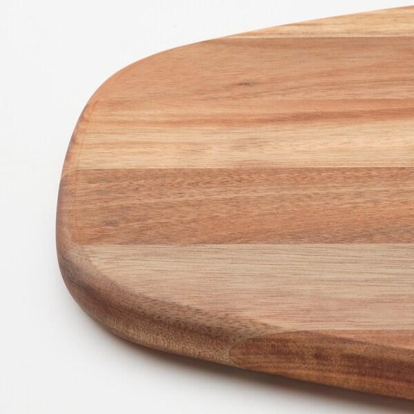 FASCINERA Táboa de cortar, acacia, 52x22 cm