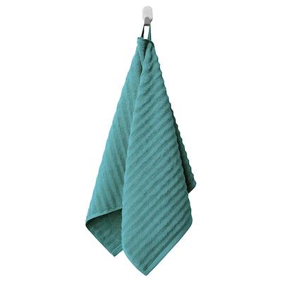 FLODALEN Toalla de man, azul/verde, 50x100 cm