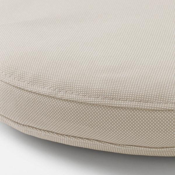 FRÖSÖN Funda coxín, exterior beixe, 35 cm