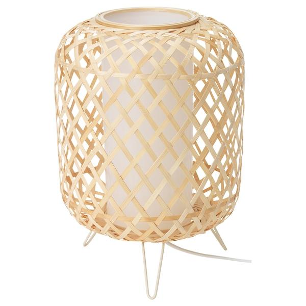 GOTTORP Lámpada de mesa, bambú, 24x34 cm