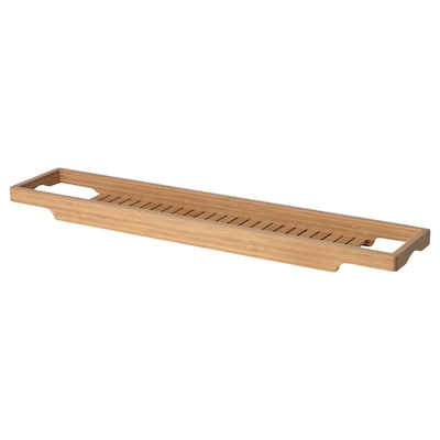 HAVERN Estante de baño, bambú, 70 cm