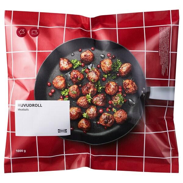 HUVUDROLL Albóndegas carne, conxelado, 1000 g