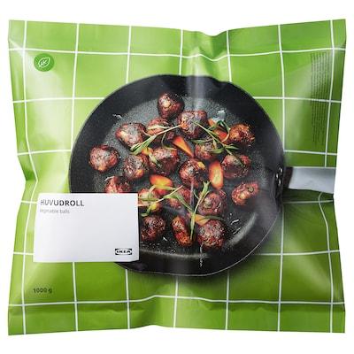 HUVUDROLL Albóndegas verduras, conxelado, 1000 g