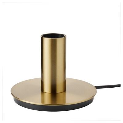 ISBARK Lámpada de mesa, chapado en latón, 11 cm