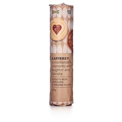 KAFFEREP Galletas recheo chocolate, certificado UTZ