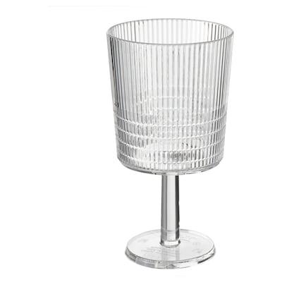 KALLSINNIG Copa de viño, transparente plástico, 32 cl