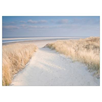 KATEBO Lámina, dunas enLangeoog/polistireno, 70x50 cm