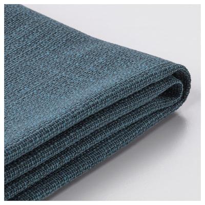 KIVIK Funda para sofá de 2 prazas, Hillared azul escuro