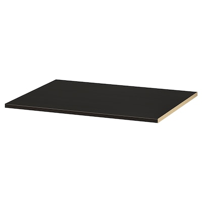 KOMPLEMENT Andel, negro-marrón, 75x58 cm