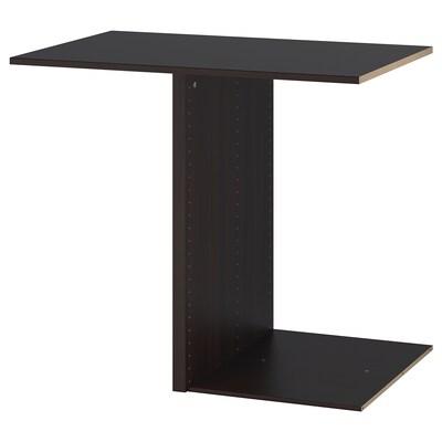 KOMPLEMENT Divisor p/estrutura, negro-marrón, 100x58 cm