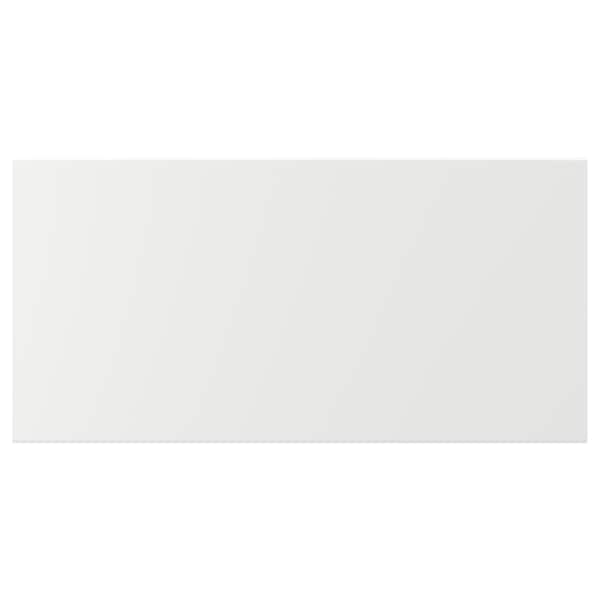 KUNGSBACKA Fronte de caixón, branco mate, 80x40 cm