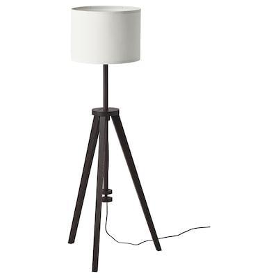 LAUTERS Lámpada de pé, marrón freixo/branco