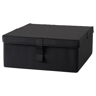 LYCKSELE Caixón almac cadeira de brazos cama, negro