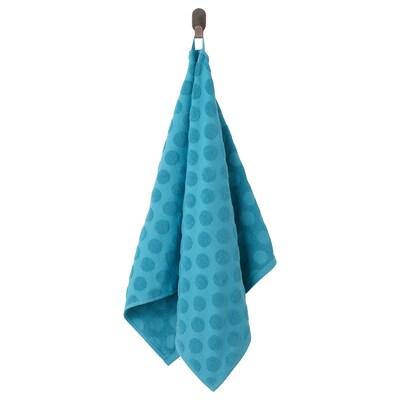 MÅLSELVA Toalla de man, azul, 50x100 cm
