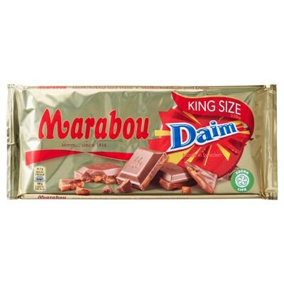 MARABOU Barra chocolate leite c/daim