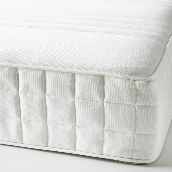 MATRAND Colchón viscoelástico, firme/branco, 140x200 cm